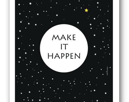 פוסטר 30/40 | Make it happen