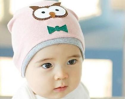 כובע ינשוף | כובע ינשוף לתינוק | כובע לתינוק | כובעים לתינוקות | כובע לתינוקת | כובע רך | כובע נעים | כובע מעוצב | כובעים מעוצבים | כובע חם