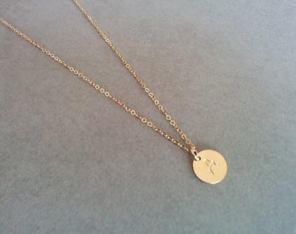 שרשרת לבת מצווה   שרשרת זהב לילדה   שרשרת זהב עם תליון חריטה   שרשרת תליון אות   שרשרת גולדפילד עם תליון   מתנה לבת מצווה