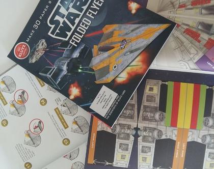 ספר פעילות-מלחמת הכוכבים, קיפולי נייר