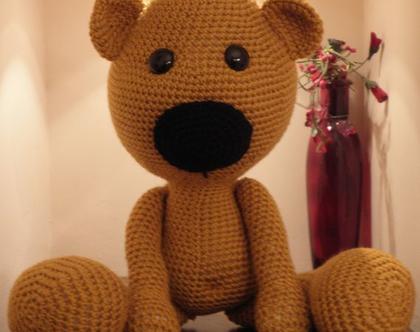 בובות סרוגות- דובי sweet face