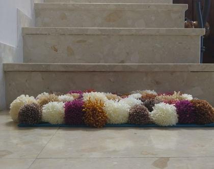 שטיח פונפונים