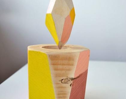 קישוט משרדי | פרח למשרד | פרח לבית | אקססוריז למשרד | מתנה למשרד| עיצוב בעץ | עיצוב לבית | עיצוב המשרד | קישוט למשרד | מתנה למשרד