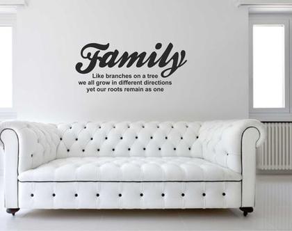 Family Branches   מדבקות קיר לבית   מדבקת קיר לעיצוב הבית   מדבקות קיר לחלל הבית   מדבקות קיר לחדר השינה   מדבקות למשרד