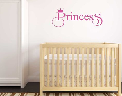Princess   מדבקות קיר לבית   מדבקת קיר לעיצוב הבית  מדבקות קיר לחלל הבית   מדבקת קיר לחדר ילדים   מדבקת קיר לחדר נוער