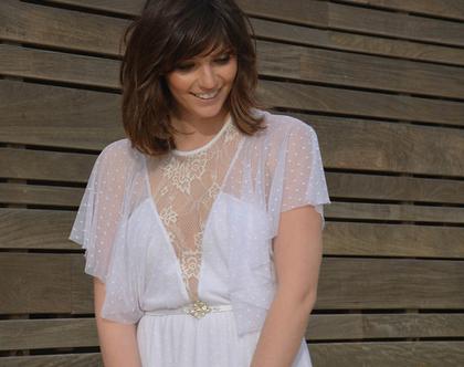 שמלת כלה רומנטית, רשת נקודות