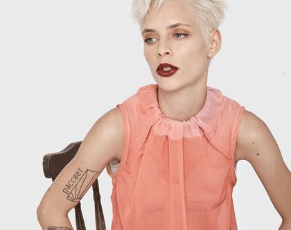 חדש! חולצת קיץ קלילה מויסקוזה בצבע וורוד, פוקסיה , חולצת קיץ, חולצה ורודה