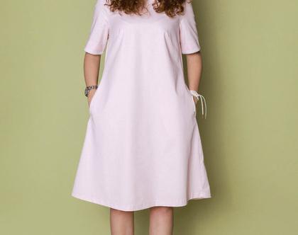 שמלת ROSSIE ורוד