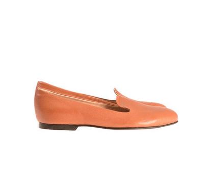 """נעלי סירה """"אף"""" קאמל"""