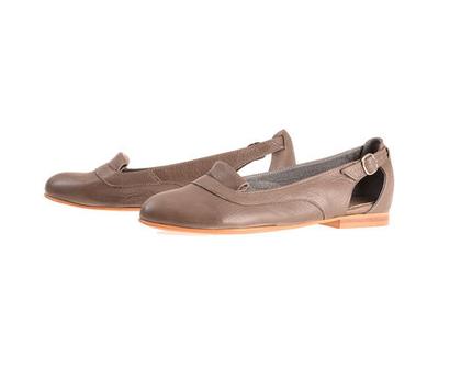 נעלי סירה רונה אפורות