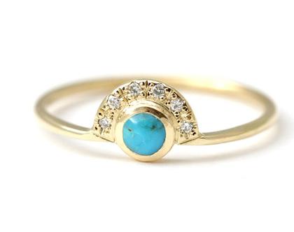טבעת אירוסין עדינה עם טורקיז, טבעת טרקיז יהלום, טבעת אירוסין עם טורקיז, טבעת אירוסין מיוחדת, טבעת אירוסים אלטרנטיבית, טבעת אירוסים כחולה