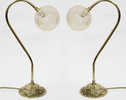 מנורת פליז, מנורות לילה זהובות, מנורת זהב, מנורות פליז, מנורת לילה זהובה