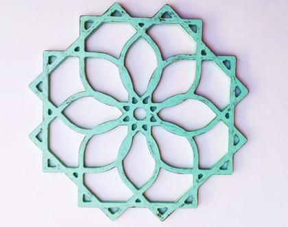 דקורציה לקיר | מנדלה גאומטרית | משרביה עגולה | מנדלה ALFA