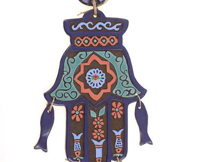 חמסה דגים ענקית - נורית טבע. חמסה מעוצבת, חמסה מתנה לחתונה, עיצוב הבית, חמסה דקורטיבית, חמסה עבודת יד,חמסה ענקית.