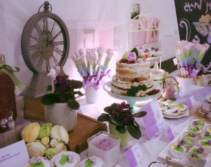 שולחן בר מתוק לבת מצווה, שולחן מתוק לבת מצווה, שולחן מתוקים, רעיונות למסיבת רווקות, מסיבת רווקות רעיון למסיבת רווקות,שולחן בר מתוק לאירועים