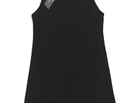 שמלת קומבניזון שחורה