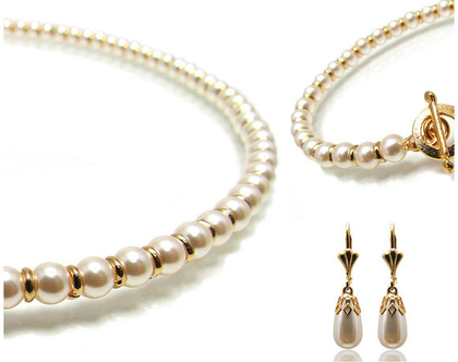 תכשיטים לכלה , תכשיטי פנינים לכלה , תכשיטים לכלות , תכשיטי כלה , תכשיטים קלאסיים , תכשיטים רומנטיים , תכשיטים מיוחדים