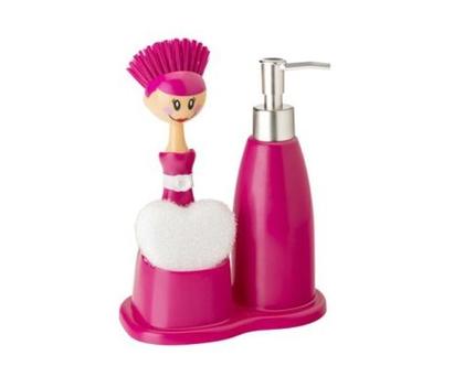 משאבת סבון | דיספנסר לסבון | מברשת כלים | מברשת לשטיפת כלים | VIGAR | VIGAR-אביזרים מעוצבים