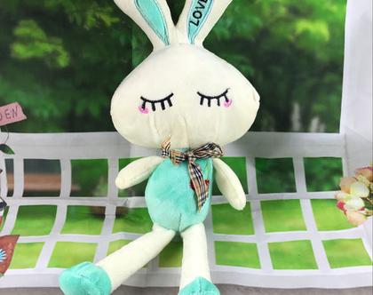בובת ארנבת   בובה רכה   חפץ מעבר   בובת חיבוקי   מתנות לתינוקות   מתנות לילדים ***משלוח חינם***