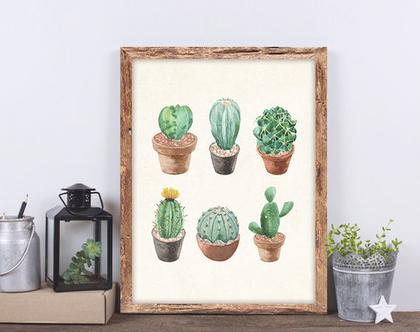 הדפס למסגור - Succulent