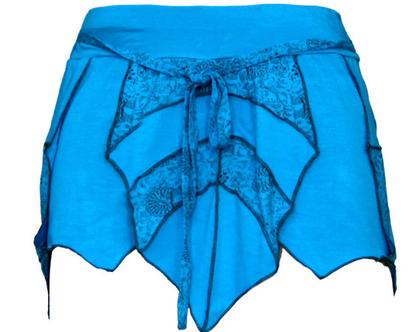 חצאית מיני תכלת