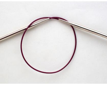 """2.75 מ""""מ, 80 ס""""מ אורך - מסרגות עגולות KnitPro Nova Metal"""