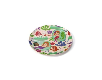 צלחת במבוק | כלי אוכל במבוק | צלחת ילדים | כלי במבוק | כלי אוכל ילדים | ילדים