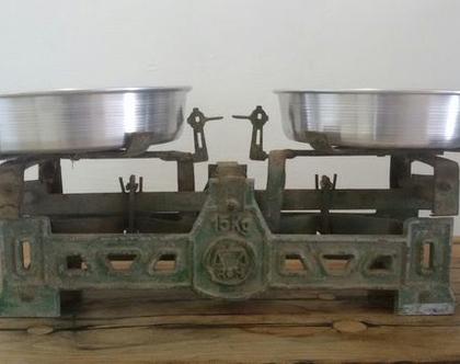 מאזני ירקן, מאזניים וינטאג', משקל עתיק