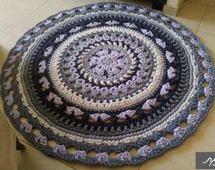 שטיח/שטיחים/שטיח סרוג/שטיחים סרוגים/שטיח לחדר ילדים/שטיח בהזמנה/שטיח סרוג בחוטי טריקו