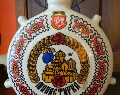 בקבוק חרסינה לשתייה חריפה-רוסייה