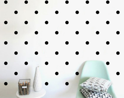 מדבקות עיגולים בכל הגדלים 60 צבעים לבחירה   מדבקות לחדר ילדה   מדבקות לחדר בנות   מדבקות קיר   מדבקות עיגולים   מדבקות קיר נקודות