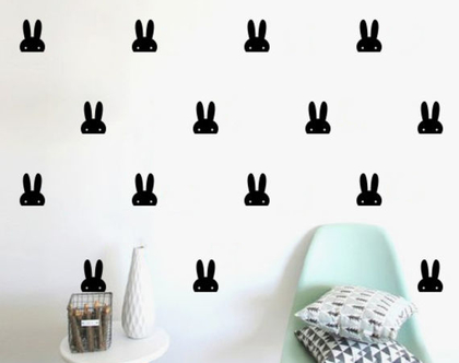 מדבקות ארנבים | מדבקת ארנב | מדבקות לחדרי תינוקות | מדבקות ויניל | מדבקות קיר | מדבקות לחדר תינוקות | מדבקות לחדר ילדים | מדבקות ארנב