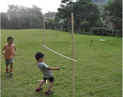 משחק לימבו ענק מעץ