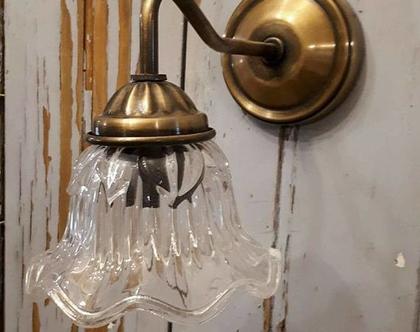 מנורת זרוע פרח עיטורים