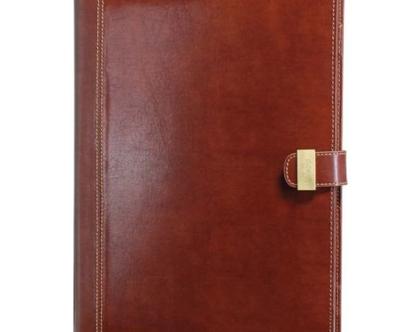 נרתיק פוליו למסמכים A4 - חום, סדרת דוקלאנד
