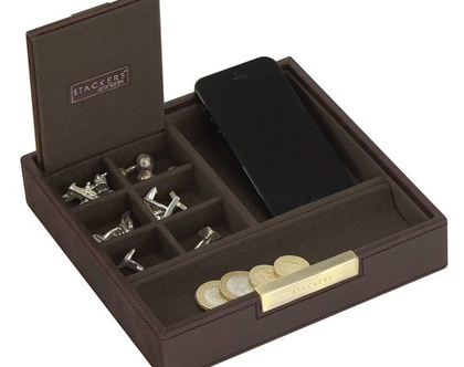 סט קופסאות מודולריות למשרד ולבית - חום חאקי