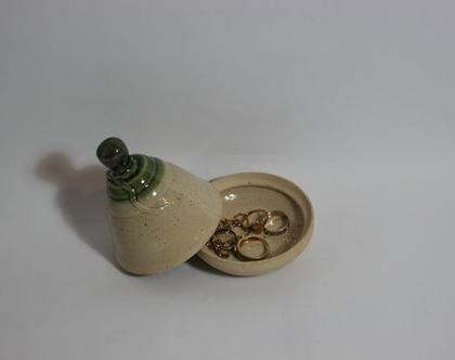 מיני טאג'ין קופסא לתכשיטים מקרמיקה, כלי אחסון לתכשיטים מקרמיקה, טאג'ין קטן מקרמיקה, קופסה רב שימושית מקרמיקה, קופסא לעגילים, טבעות, שרשראות