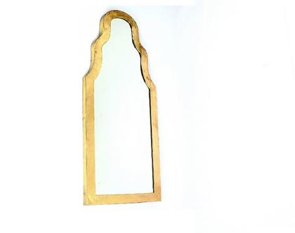 מראה מסגרת זהב מידה 121X51   מסגרת מעוצבת   *** שילוח חינם ***