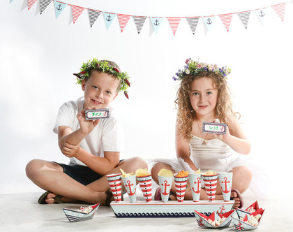 קונוסים ומעמד לאירוח והגשה בימי הולדת, מסיבות, חגים ועוד
