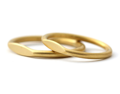 סט טבעות נישואין לגבר ולאישה, טבעות נישואין זהב צהוב, סט טבעות לגבר ולאישה, טבעת נישואין פשוטה, טבעות נישואין מעוצבות