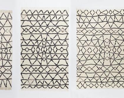 שטיח קילים בעיצוב נורדי, שטיח סקנדינבי, שטיח נורדי