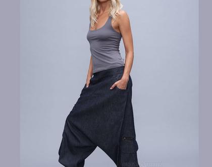 מכנס אלאדין ג'ינס אפור