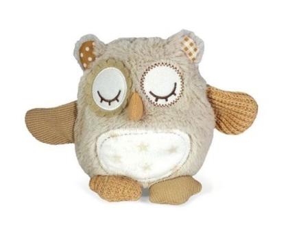 בובה מנגנת, קלאוד בי, רעש לבן לתינוקות, רעש לבן לילדים, בובה שעוזרת להירדם, cloud b, בובת ינשוף