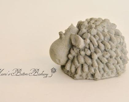 כבשה- שון כבשון | כבשה מבטון | כבשת בטון | 1 יח' | מתנה מבטון | עיצוב בבטון | הום סטיילינג