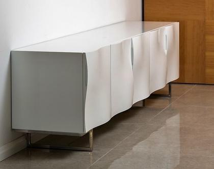 אפיק - מזנון לבן בעיצוב פרמטרי