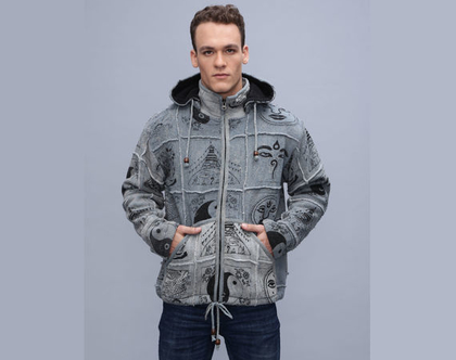 מעיל גברים אטני