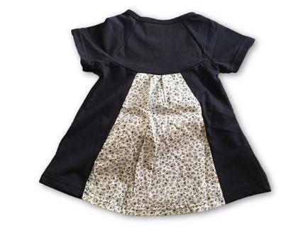 שמלה פרחונית נייבי