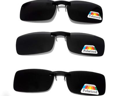 קליפון פולרואיד איכותי למשקפי ראייה בגוון שחור אפור