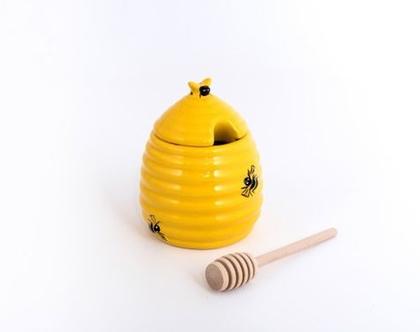 כלי לדבש | כלי אחסון דבש | צנצנת דבש | ראש השנה