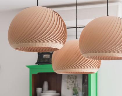 מנורת תלייה, מנורת תקרה, מנורת תלייה מפורניר, מנורת תקרה טבעית, אהיל פורניר, מנורת רוח